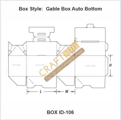 Gable Boxes Auto Bottom