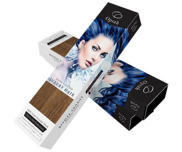 Custom Printed Hair Extension Box