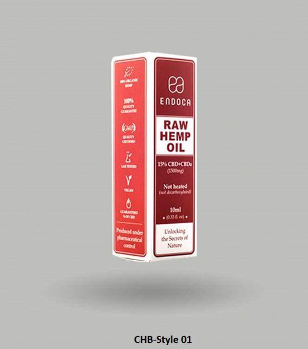 CBD Hemp oil Boxes