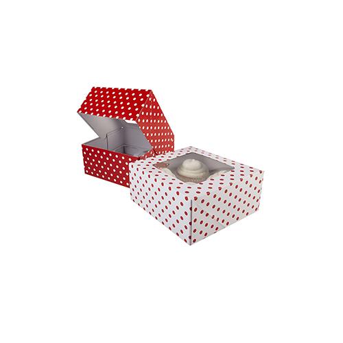 Custom Individual Cupcake Boxes-