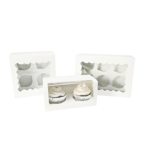 Custom Individual Cupcake Boxes+