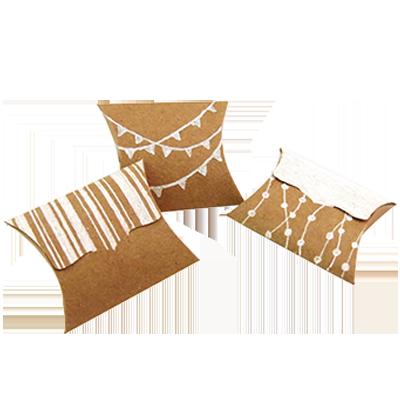 Custom Kraft Paper Pillow Soap Boxes)