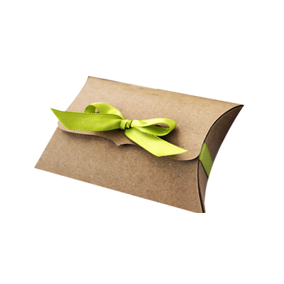 Custom Kraft Paper Pillow Soap Boxes(
