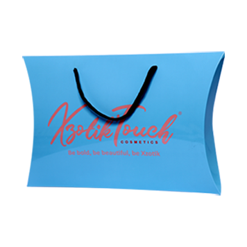 Custom Logo Pillow Boxes=