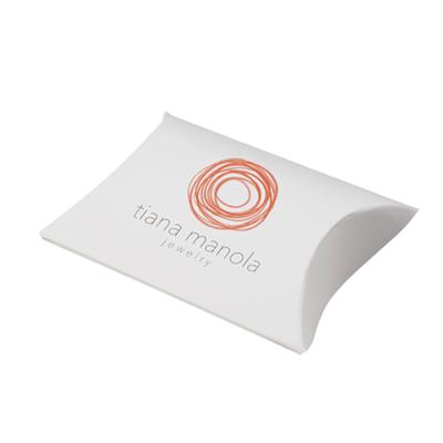 Custom White Pillow Boxes-