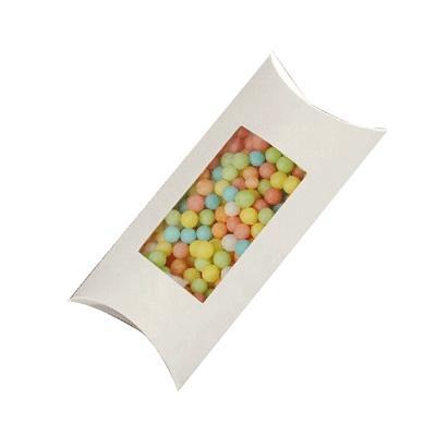 Custom White Pillow Boxes_