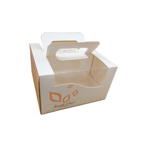 Custom Paper Cake Boxes=