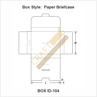Paper Brief case