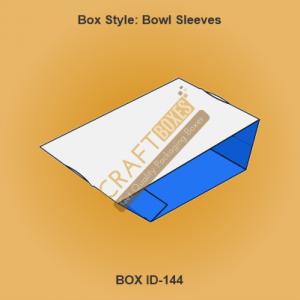 Bowl Sleeve Packaging