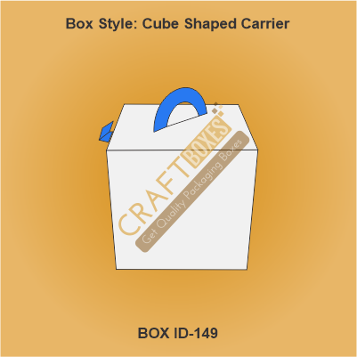 Cube Shaped Carrier Box