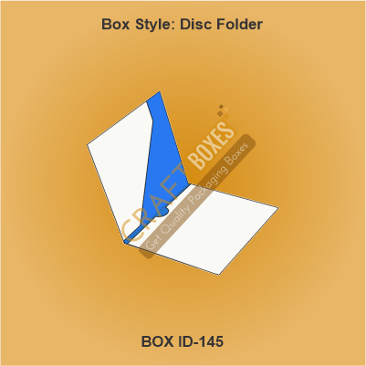 Custom craft Disc Folder Case
