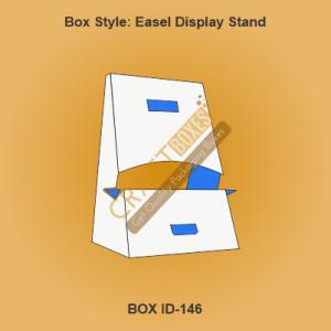 Custom Kraft Display Stand
