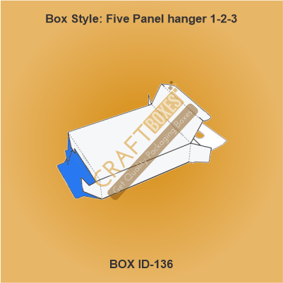 Five Panel Hanger 123 Packaging Boxes