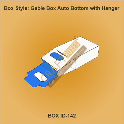 Gable Box Auto Bottom with hanger
