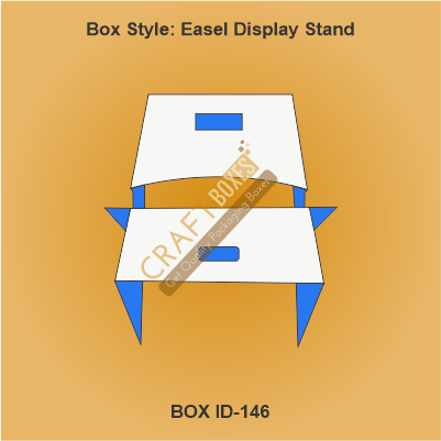 Custom Kraft Display Stand