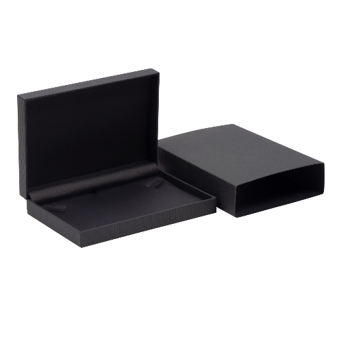 Black Necklace Box with Sleeve 02