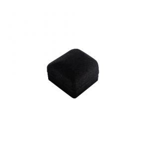 Black and White Velvet Jewellery Ring Gift Box 01