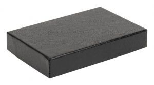 Black embossed credit card gift boxes 01