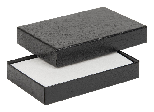 Black embossed credit card gift boxes 02