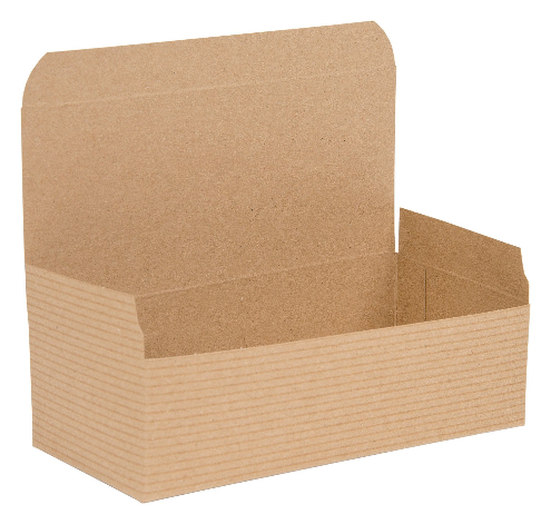 Brown Kraft Recycled Piece Flat Packed Pop Up Gift Box 03
