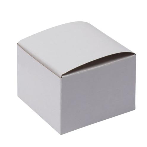 Custom White Gloss Flat Square Gift Box 03