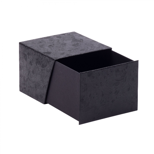 Deep Black Floral Bangle Box 02