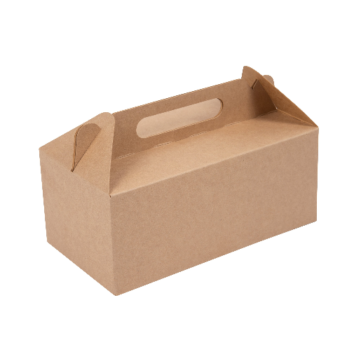 large Kraft gable boxes