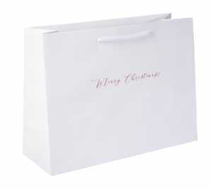 Large Landscape Christmas Eve Gift Bag 01