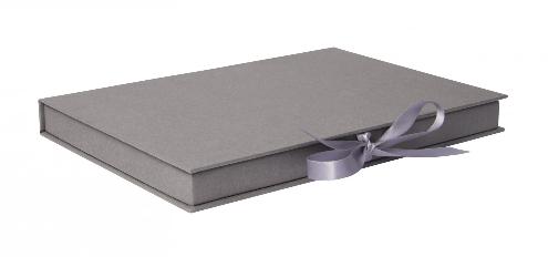 Luxury Kraft Thin Book Style Gift Box 02