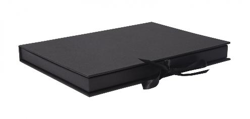 Luxury Kraft Thin Book Style Gift Box 03