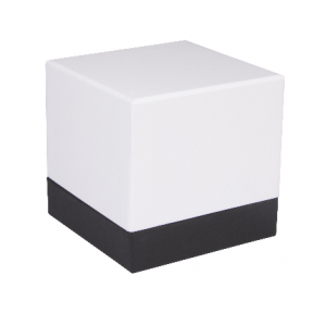 Luxury Matt White and Black Shoulder Cube Gift Boxes 01