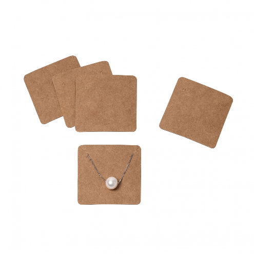 Necklace Holder Packaging Cards 02