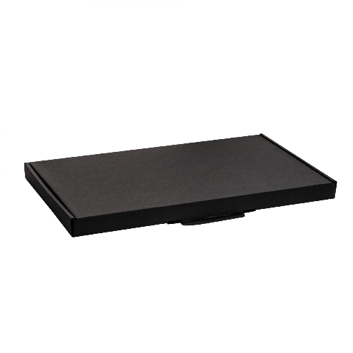Slim Flat Black Postal Boxes 01