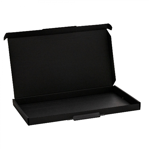 Slim Flat Black Postal Boxes 02