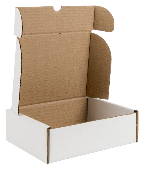 White Postal Packaging Boxes 02